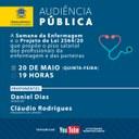 Audiência Pública debate sobre temas da Enfermagem