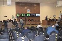 Câmara aprova Projetos em sessão ordinária