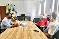 Diretores da Fundação Dilson Godinho buscam apoio da Câmara Municipal para gestão da saúde