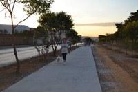 Professora dá nome à pista de caminhada do bairro São Judas
